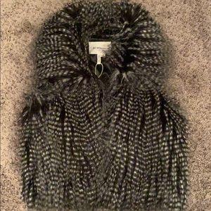 BCBGeneration Fur Vest